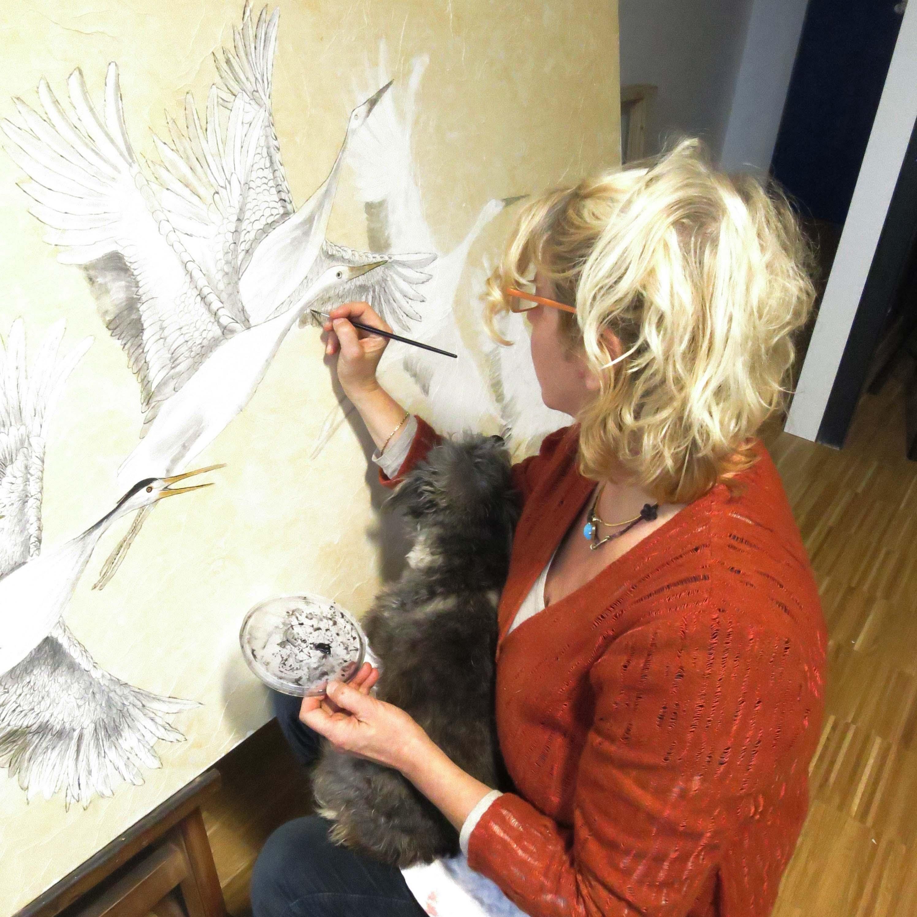 Lo stile Nihonga Mette in evidenza caratteristiche tecniche e stilistiche di certa pittura contemporanea un tipo di pittura per certi versi ispirata allo stile e alle tecniche dell'Occidente: che ha però fondamento nell'arte tradizionale Giapponese