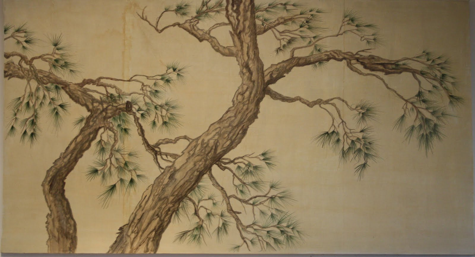Pittura giapponese barbara gallas for Pittura salone