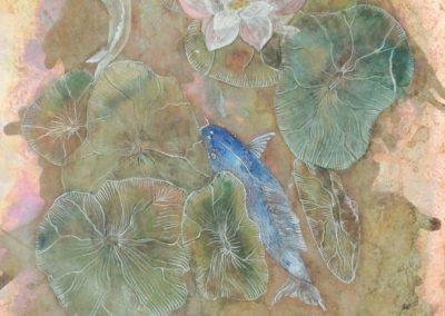 Pesci koi tra i loto